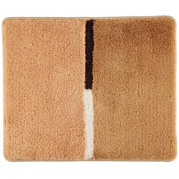 Rhomtuft RHOMY - Badteppich Mira 257 - Farbe: sand - 834 50x60 cm