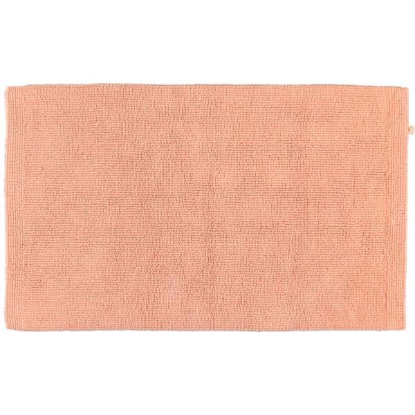 Rhomtuft - Badteppich Pur - Farbe: peach - 405 60x100 cm