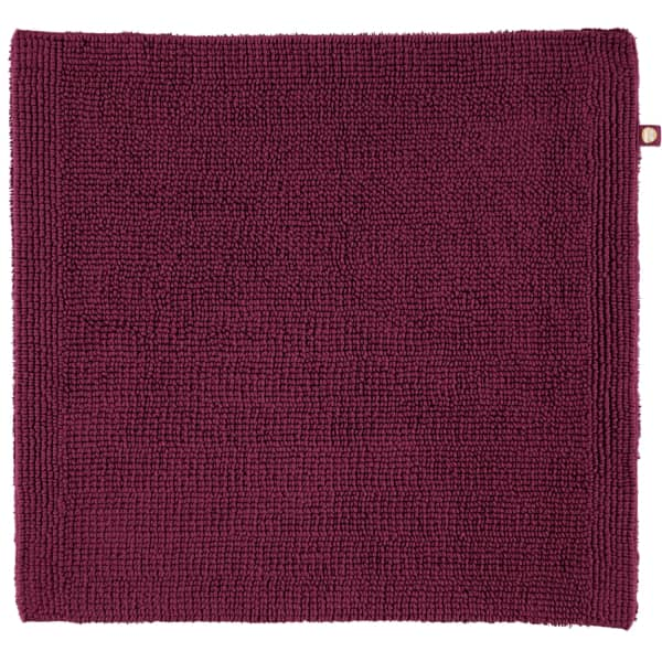 Rhomtuft - Badteppich Pur - Farbe: berry - 237 60x60 cm