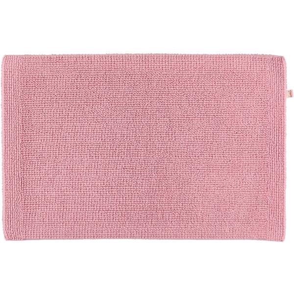 Rhomtuft - Badteppich Pur - Farbe: rosenquarz - 402 50x75 cm