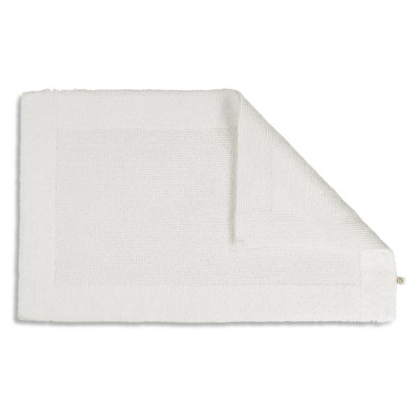 Rhomtuft RHOMY - Badteppich Select 75 - Farbe: weiß - 01 70x120 cm