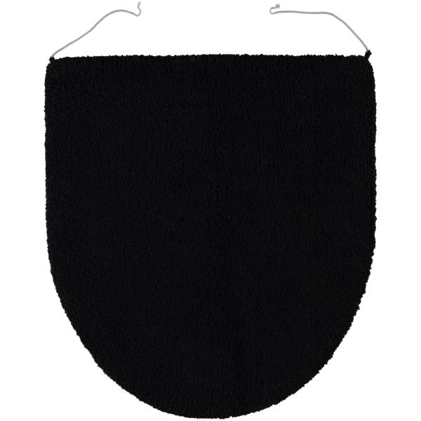 Rhomtuft - Badteppiche Square - Farbe: schwarz - 15 Deckelbezug 45x50 cm