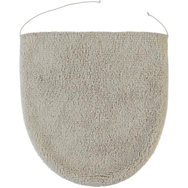 Rhomtuft - Badteppiche Prestige - Farbe: stone - 320 Deckelbezug 45x50 cm