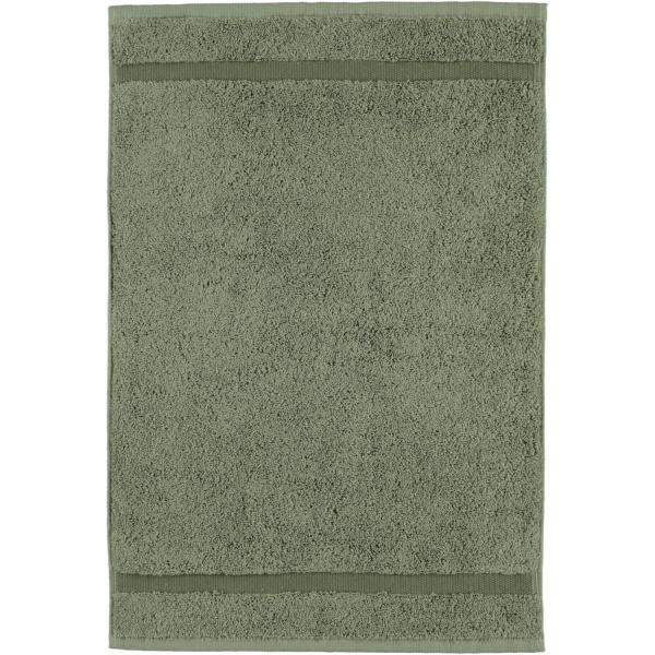 Rhomtuft - Handtücher Princess - Farbe: olive - 404 Gästetuch 40x60 cm