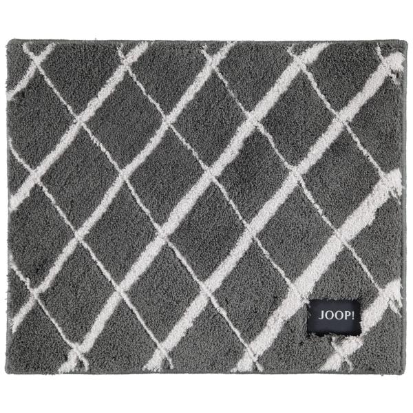 JOOP! Badteppich Diamond 143 - Farbe: Anthrazit - 069 50x60 cm