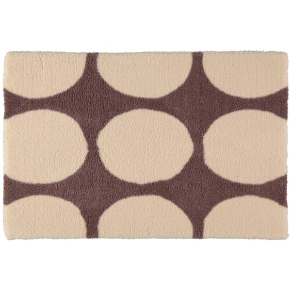 Rhomtuft - Badteppiche Hot - Farbe: beige - 42 70x120 cm