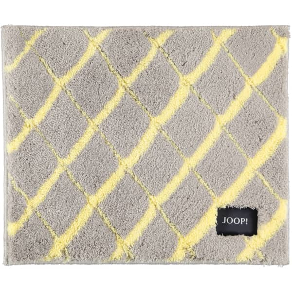 JOOP! Badteppich Diamond 143 - Farbe: Lemon - 747 50x60 cm