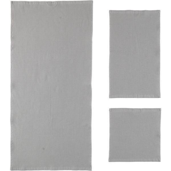 Rhomtuft - Handtücher Face & Body - Farbe: kiesel - 85