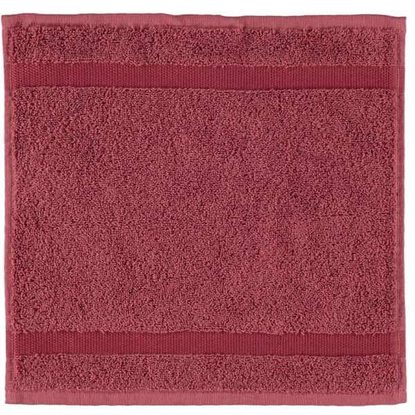Rhomtuft - Handtücher Princess - Farbe: marsala - 391 Seiflappen 30x30 cm