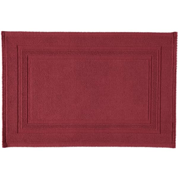 Rhomtuft - Badteppiche Gala - Farbe: marsala - 391 70x120 cm