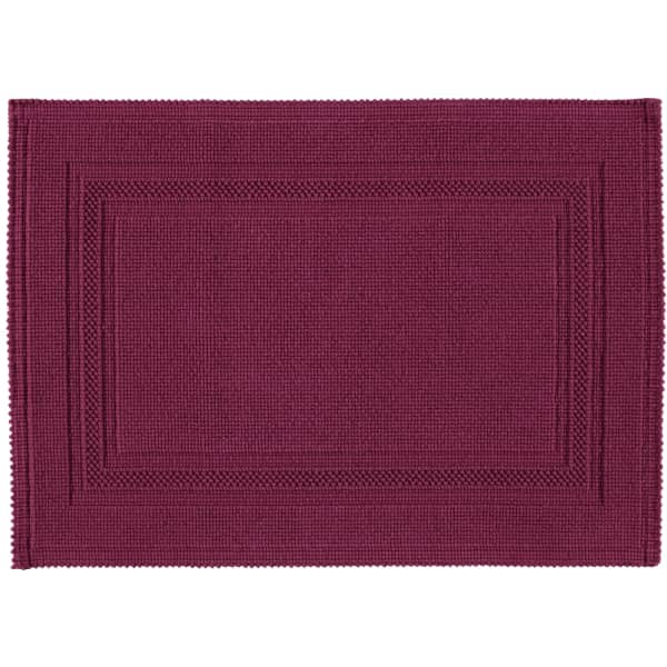 Rhomtuft - Badematte Gala - Farbe: berry - 237 50x70 cm