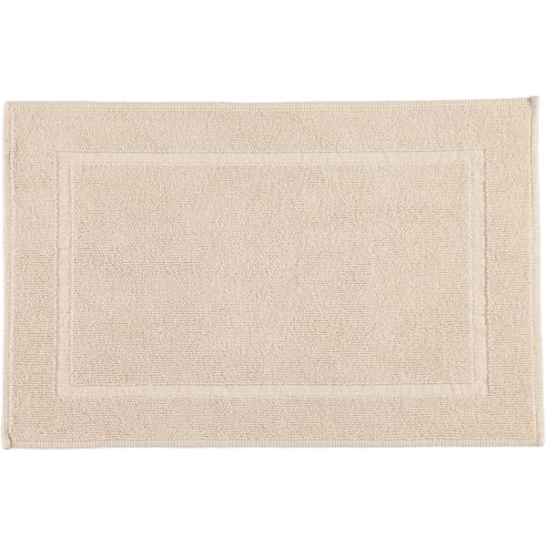 Rhomtuft - Badematte Pearl 51 - Farbe: natur-jasmin - 20 60x90 cm
