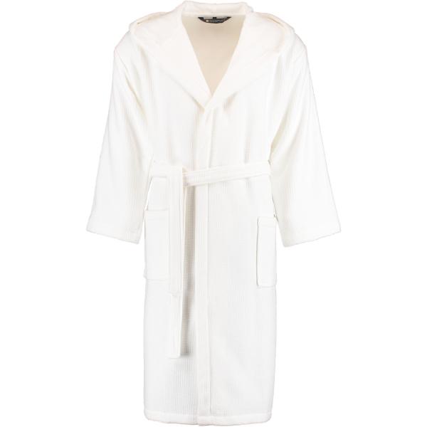 Rhomtuft - Bademantel Face & Body unisex - Farbe: weiß - 01 XL