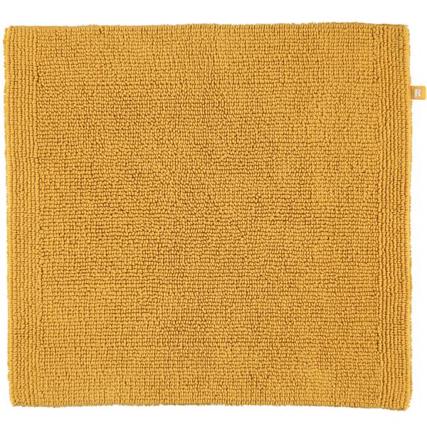 Rhomtuft - Badteppich Pur - Farbe: gold - 348 60x60 cm