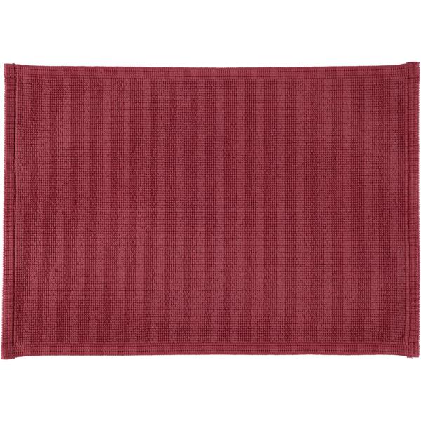 Rhomtuft - Badteppiche Plain - Farbe: marsala - 391 50x70 cm