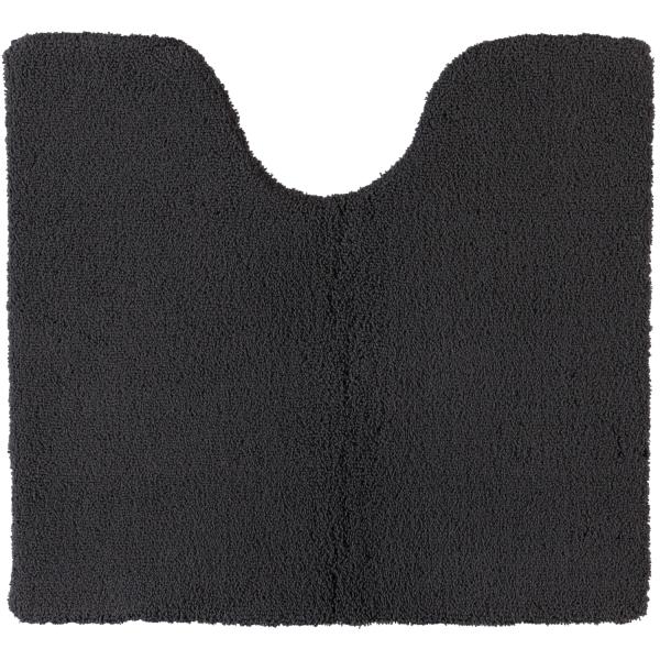 Rhomtuft - Badteppiche Square - Farbe: zinn - 02 Toilettenvorlage mit Ausschnitt 55x60 cm