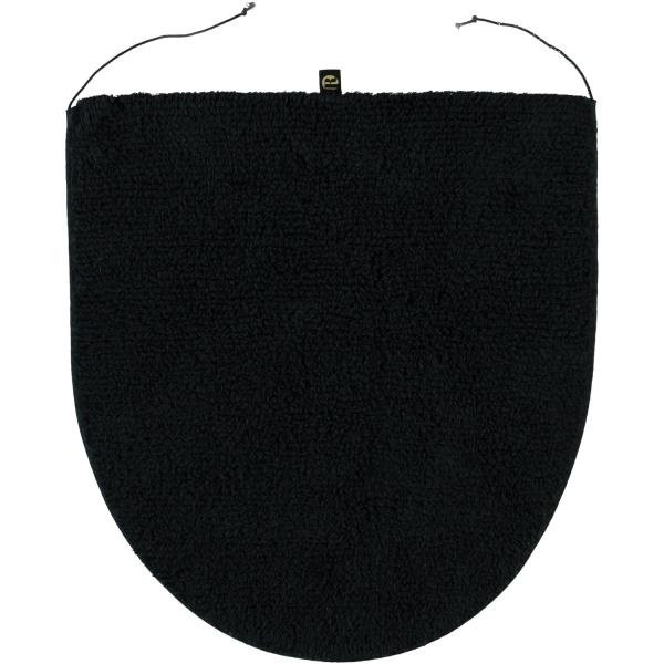 Rhomtuft - Badteppiche Prestige - Farbe: schwarz - 15 Deckelbezug 45x50 cm