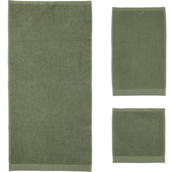 Rhomtuft - Handtücher Baronesse - Farbe: olive - 404