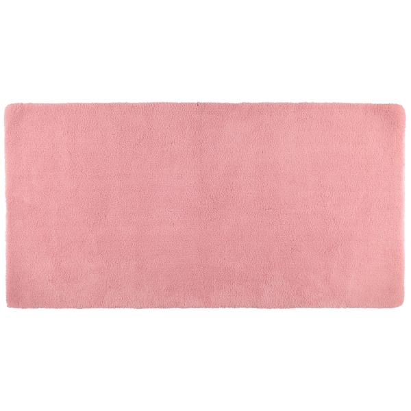 Rhomtuft - Badteppiche Square - Farbe: rosenquarz - 402 80x160 cm