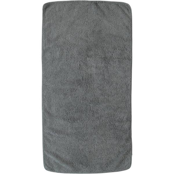 Rhomtuft - Handtücher Loft - Farbe: kiesel - 85 Handtuch 50x100 cm