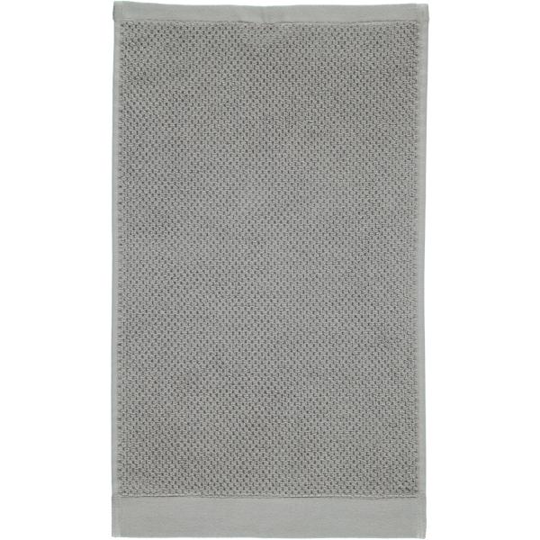 Rhomtuft - Handtücher Baronesse - Farbe: kiesel - 85 Gästetuch 30x50 cm
