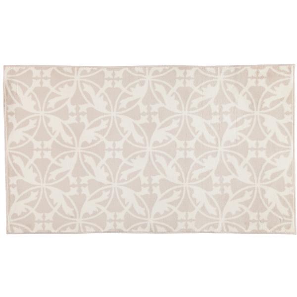 Rhomtuft - Badematte Mauro - Farbe: natur/weiß - 830 70x120 cm