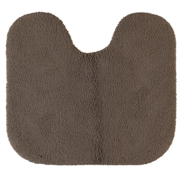 Rhomtuft - Badteppiche Aspect - Farbe: taupe - 58 Toilettenvorlage mit Ausschnitt 55x60 cm