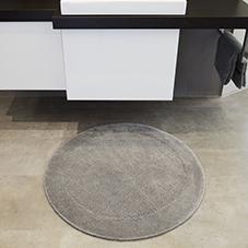 runde Badteppiche