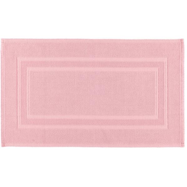 Rhomtuft - Badematte Gala - Farbe: rosenquarz - 402 70x120 cm