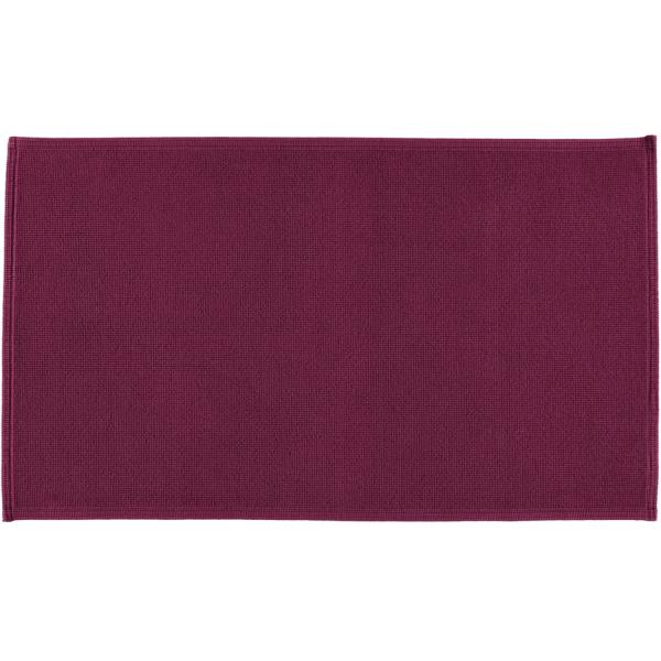 Rhomtuft - Badematte Plain - Farbe: berry - 237 70x120 cm