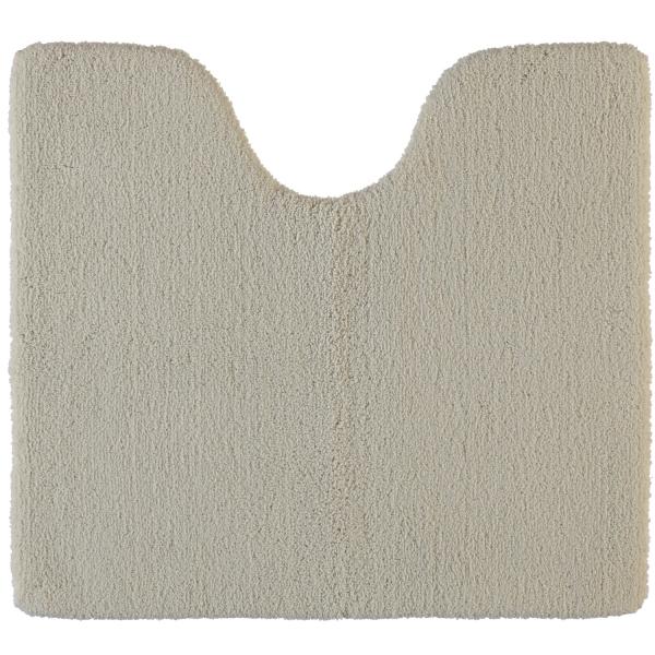 Rhomtuft - Badteppiche Square - Farbe: stone - 320 Toilettenvorlage mit Ausschnitt 55x60 cm