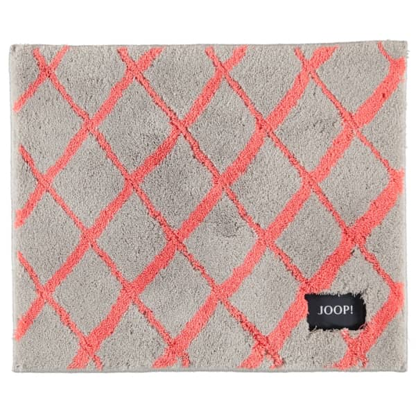 JOOP! Badteppich Diamond 143 - Farbe: Coral - 324 50x60 cm
