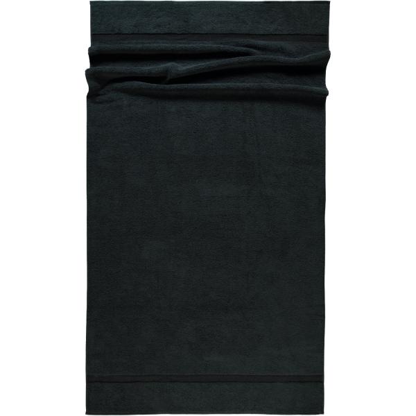 Rhomtuft - Handtücher Princess - Farbe: schwarz - 15 Saunatuch 95x180 cm