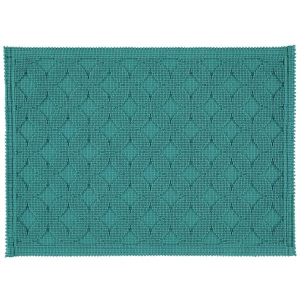Rhomtuft - Badematte Seaside - Farbe: pinie - 279 50x70 cm