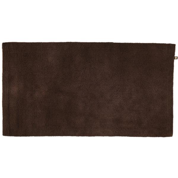 Rhomtuft - Badteppich Pur - Farbe: mocca - 406 70x130 cm