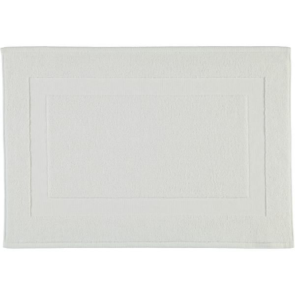 Rhomtuft - Badteppiche Comtesse - Farbe: weiss - 01 50x70 cm