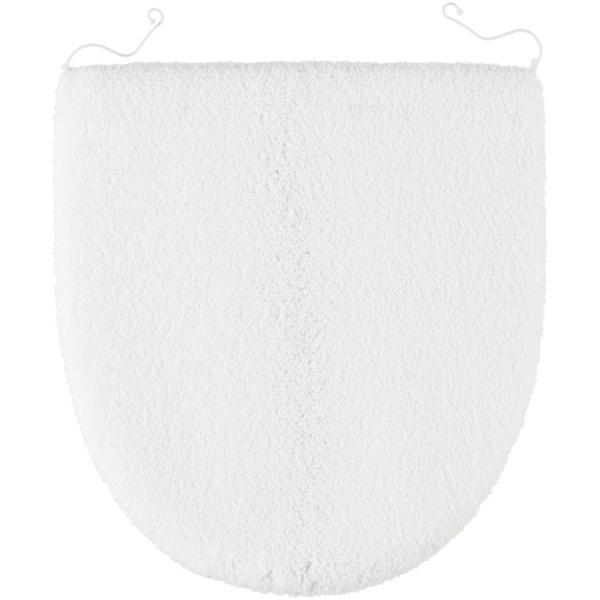 Rhomtuft - Badteppiche Aspect - Farbe: weiss - 01 Deckelbezug 45x50 cm