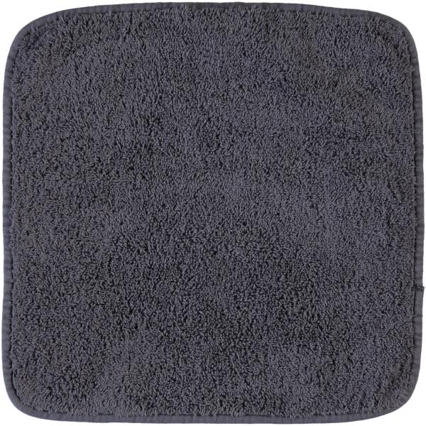 Rhomtuft - Handtücher Loft - Farbe: zinn - 02 Seiflappen 30x30 cm