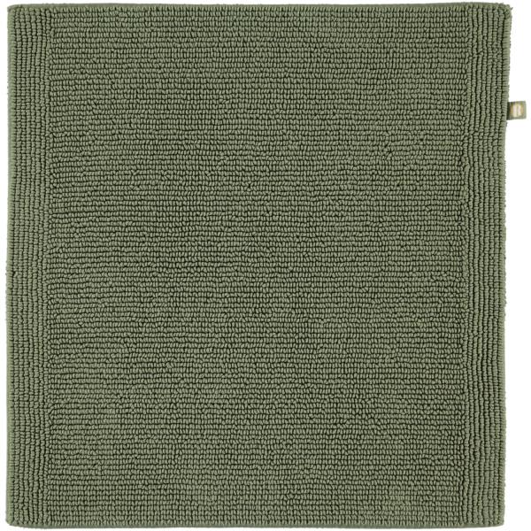 Rhomtuft - Badteppich Pur - Farbe: olive - 404 60x60 cm