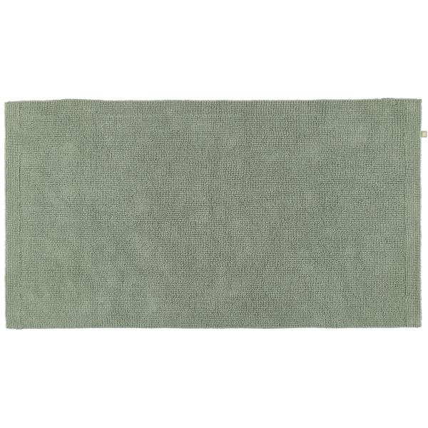 Rhomtuft - Badteppich Pur - Farbe: jade - 90 70x130 cm
