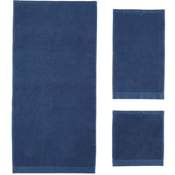 Rhomtuft - Handtücher Baronesse - Farbe: kobalt - 84