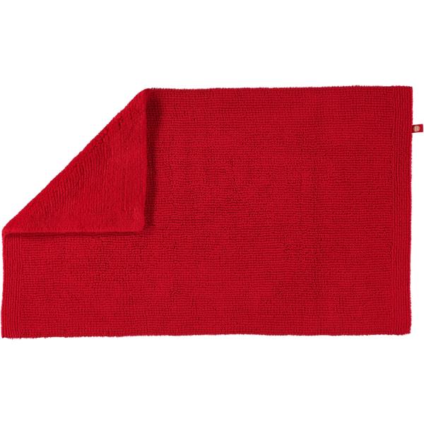 Rhomtuft - Badteppich Pur - Farbe: carmin - 18 50x75 cm
