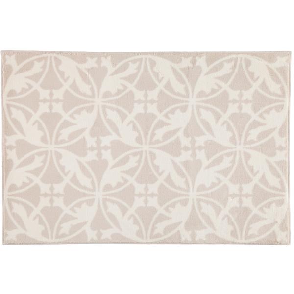 Rhomtuft - Badematte Mauro - Farbe: natur/weiß - 830 60x90 cm