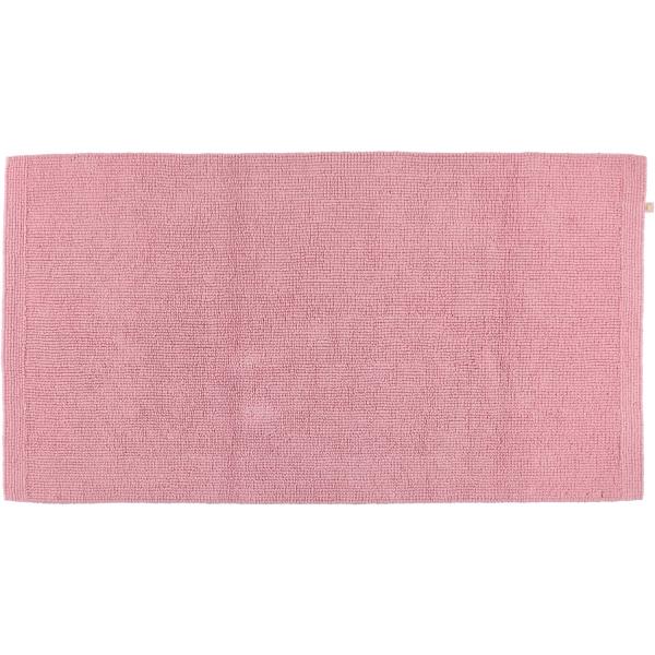 Rhomtuft - Badteppich Pur - Farbe: rosenquarz - 402 70x130 cm