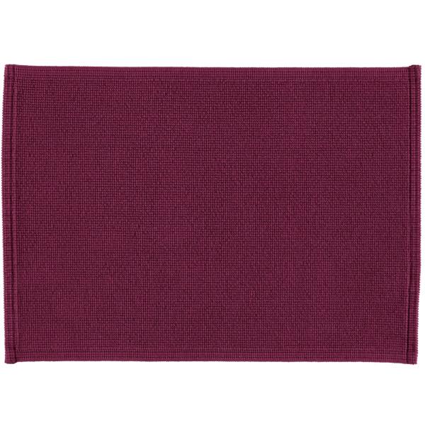 Rhomtuft - Badematte Plain - Farbe: berry - 237 50x70 cm