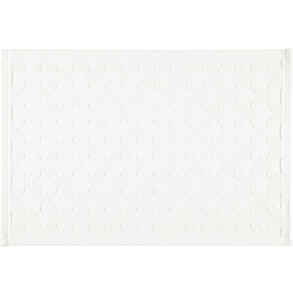 Rhomtuft - Badematte Seaside - Farbe: weiß - 01