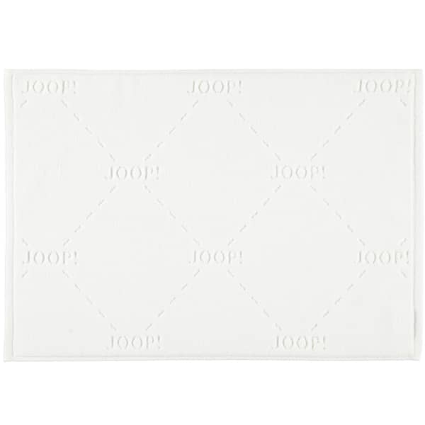 JOOP! Badematte Dash 73 - Farbe: Weiß - 001 45x65 cm