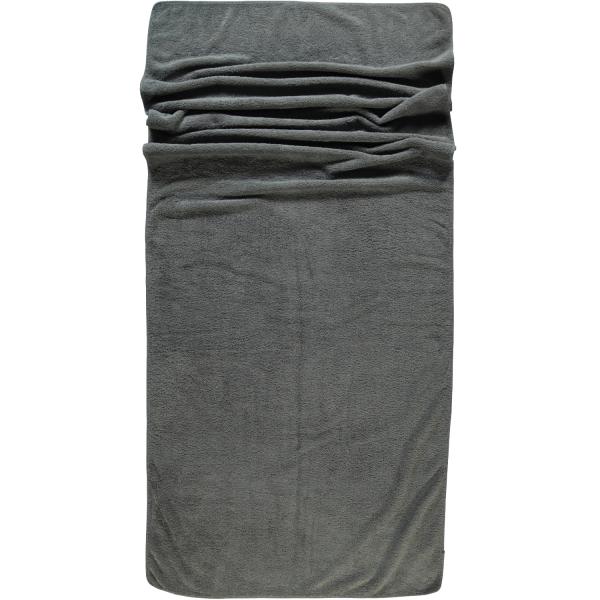 Rhomtuft - Handtücher Loft - Farbe: kiesel - 85 Saunatuch 80x200 cm