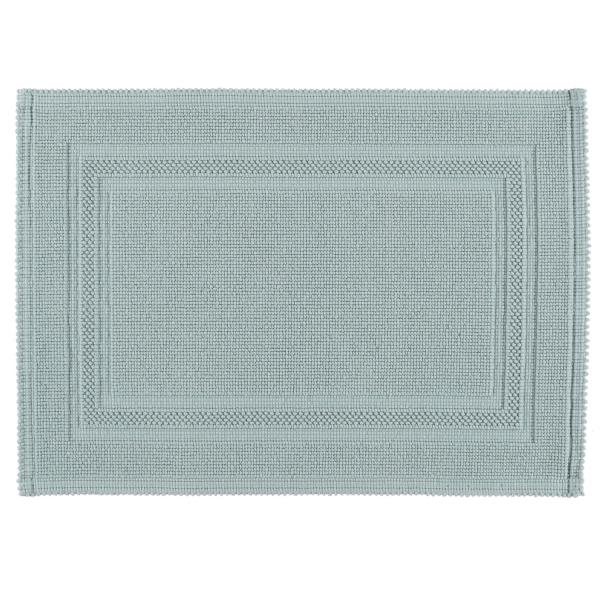 Rhomtuft - Badematte Gala - Farbe: aquamarin - 400 50x70 cm