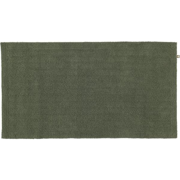Rhomtuft - Badteppich Pur - Farbe: olive - 404 70x130 cm